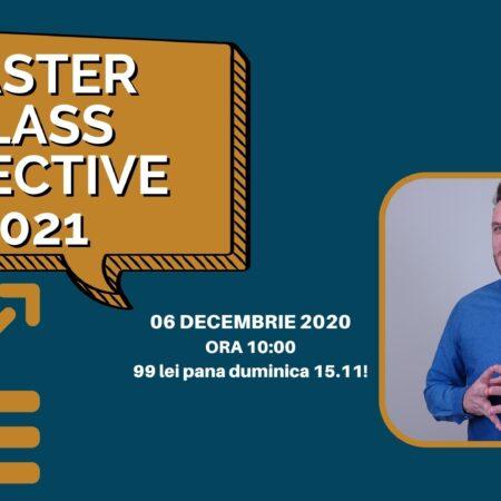Webinar – Planificarea Obiectivelor pentru anul 2021