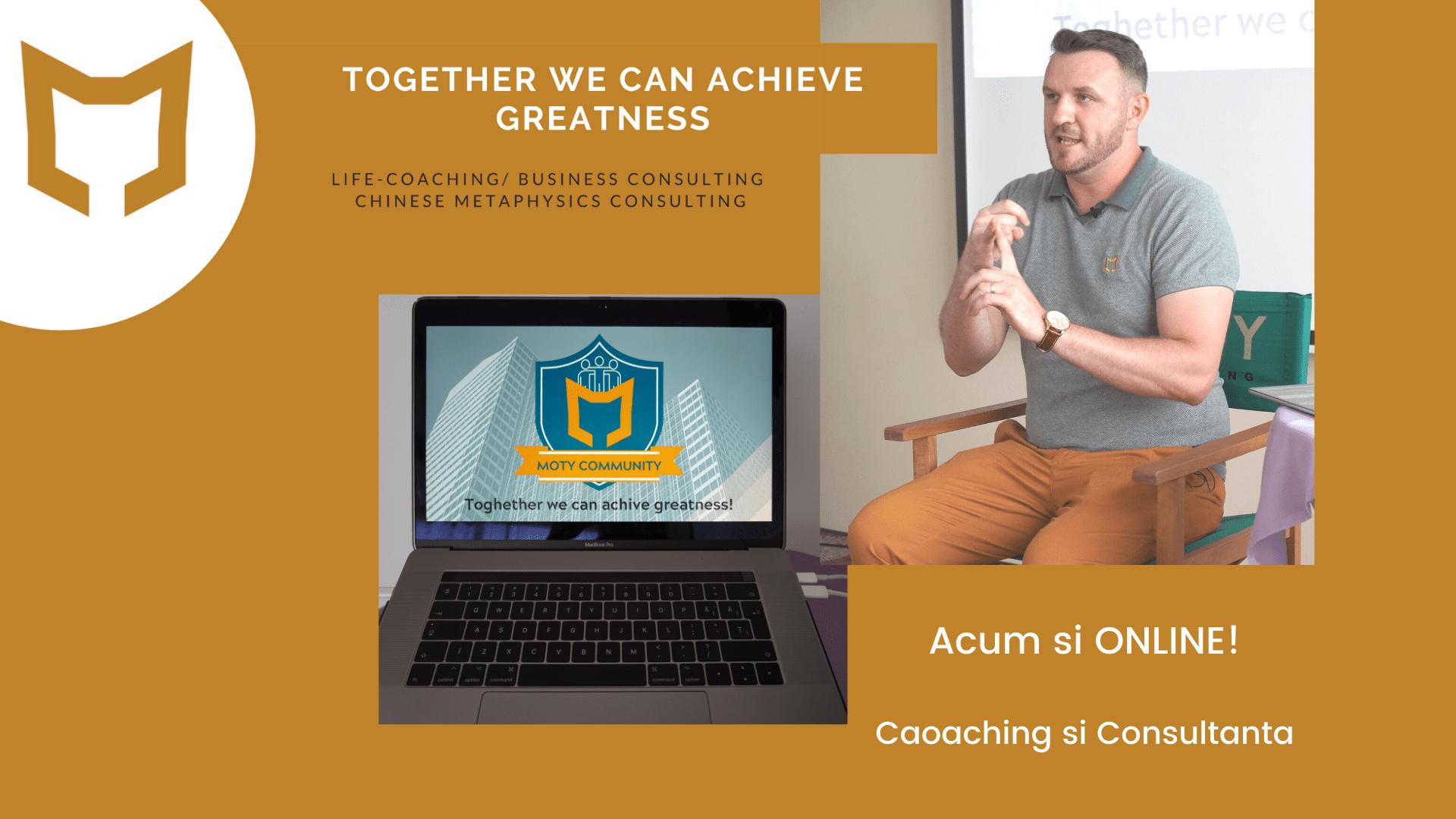 Sedinte de Coaching si Consultanta ONLINE